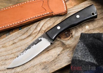 Bark River Knives: Gunny - Elmax - Black Ash Burl