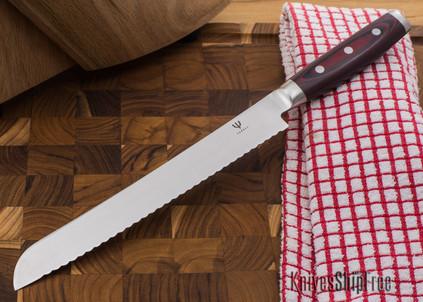 "Yaxell: Red Dragon - 9"" Bread Knife"