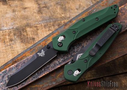Benchmade Knives: 940BK Osborne - Black Blade