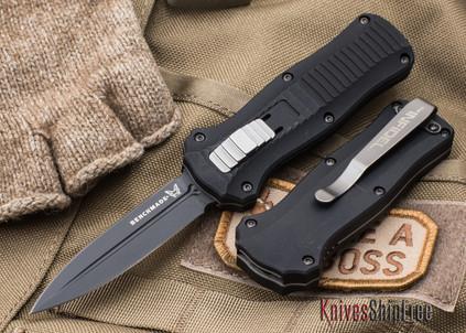 Benchmade Knives: 3350BK Mini-Infidel - OTF Auto - Black Blade