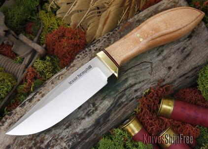 Jesse Hemphill Knives: DeKalb Series - Town Creek - Birdseye Maple - #2