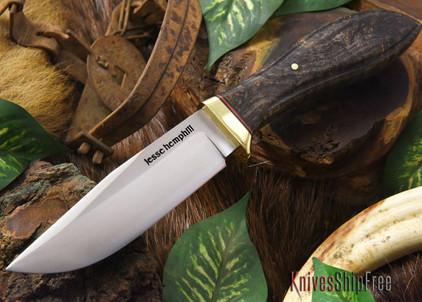 Jesse Hemphill Knives: DeKalb Series - Town Creek - Black Maple Burl - #3
