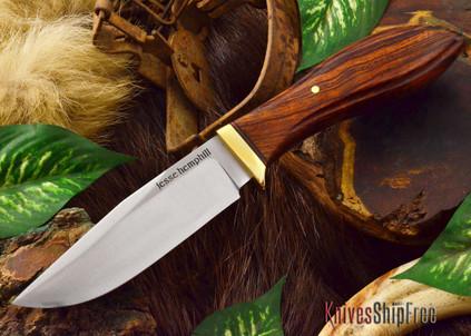 Jesse Hemphill Knives: DeKalb Series - Town Creek - Desert Ironwood - #10