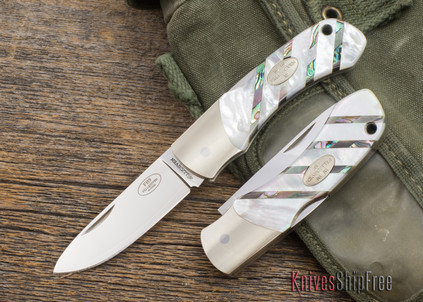 Fallkniven: FH9 - Mother-of-Pearl - 3G Steel