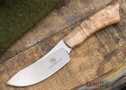 Arno Bernard Knives: Grazer Series - Springbok - Maple Burl - 102746