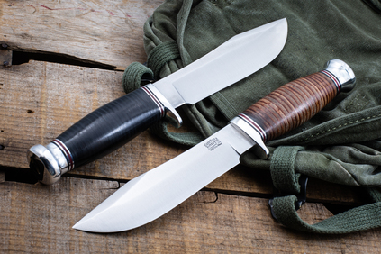 Special Hunting Knife - Hidden Tang - CPM CruWear