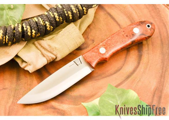 Hyken Knives: Bushcrafter CPM-154 - Desert Ironwood Burl #1