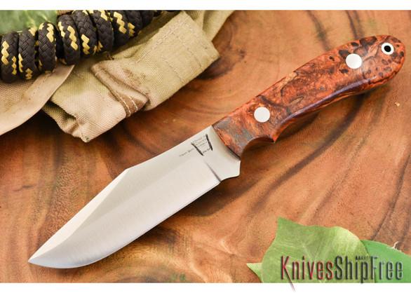 Hyken Knives: Harpoon CPM-154 - Desert Ironwood Burl #2
