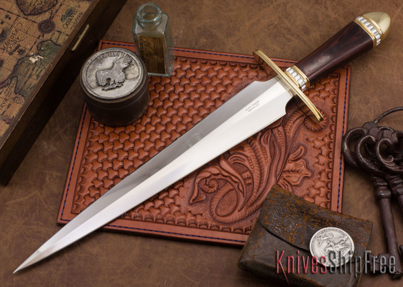 Alan Warren Knives: Toothpick - Ironwood