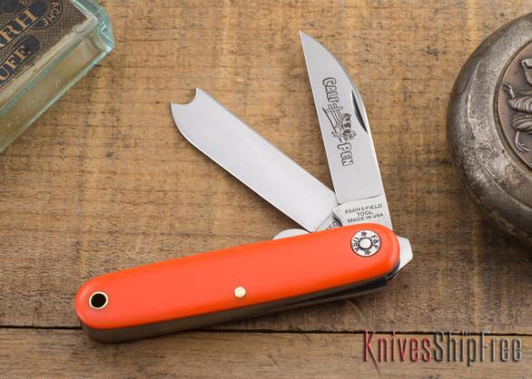 Great Eastern Cutlery: #35 Farm & Field - Calf Pen Jack - Orange Delrin