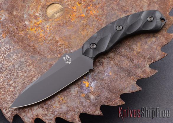 Southern Grind: Jackal - Black Blade - Black G-10 - Black Kydex Sheath
