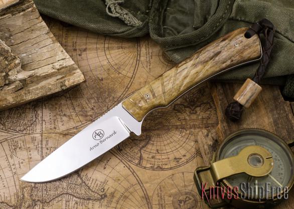 Arno Bernard Knives: Badger - Giraffe Bone 09