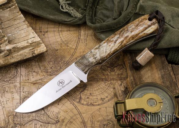 Arno Bernard Knives: Badger - Giraffe Bone 20