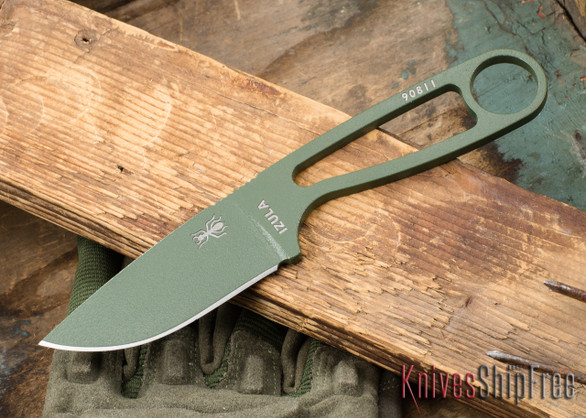 ESEE Knives: Izula - Neck Knife - OD Green