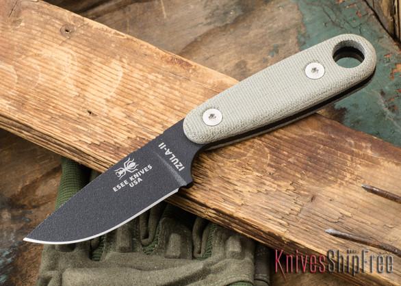 ESEE Knives: Izula II - Neck Knife - Black