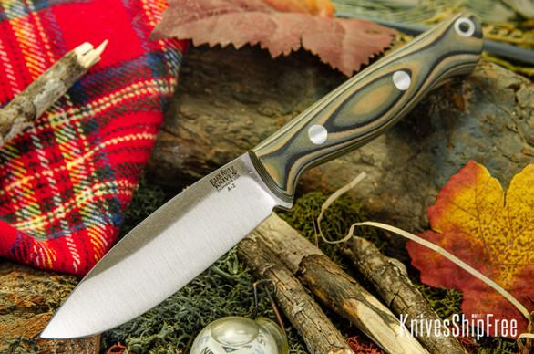 Bark River Knives: UP EDC - Mil Spec Camo G-10 - Matte