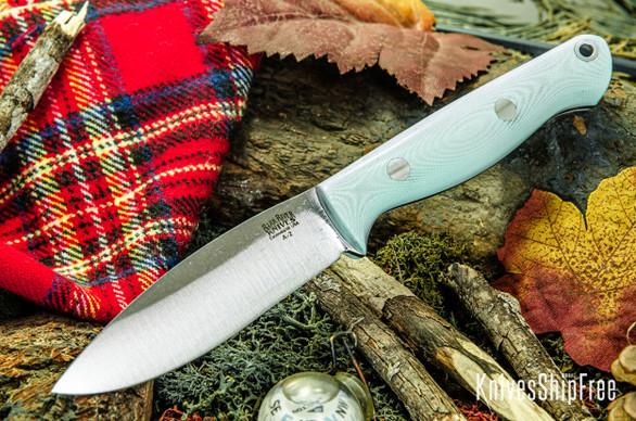 Bark River Knives: UP EDC - Sea Blue G-10