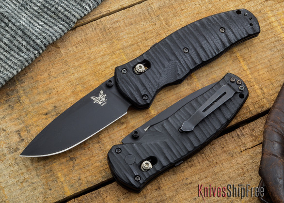 Benchmade Knives: 1000001BK Volli - AXIS® Assisted - Black Blade