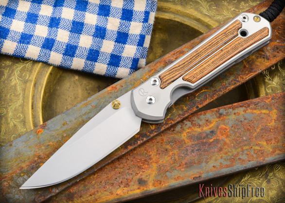 Chris Reeve Knives: Large Sebenza 21 - Bocote Inlay - 011305