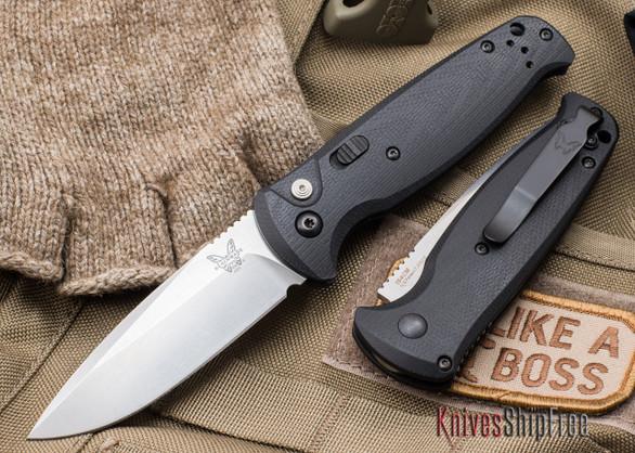 Benchmade Knives: 4300 CLA - Auto - Black G-10