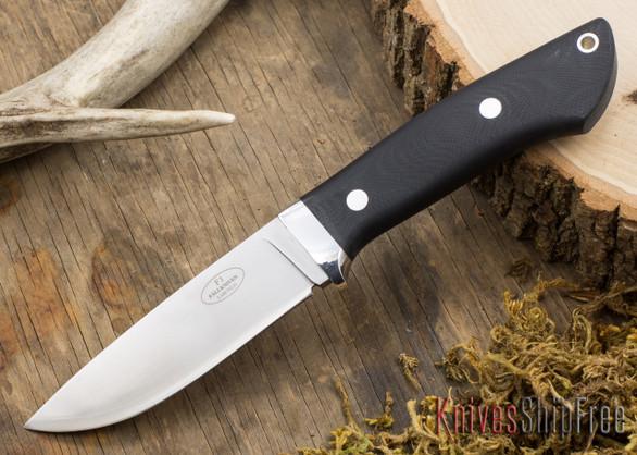 Fallkniven: Custom F1 - Black G-10 - Matte
