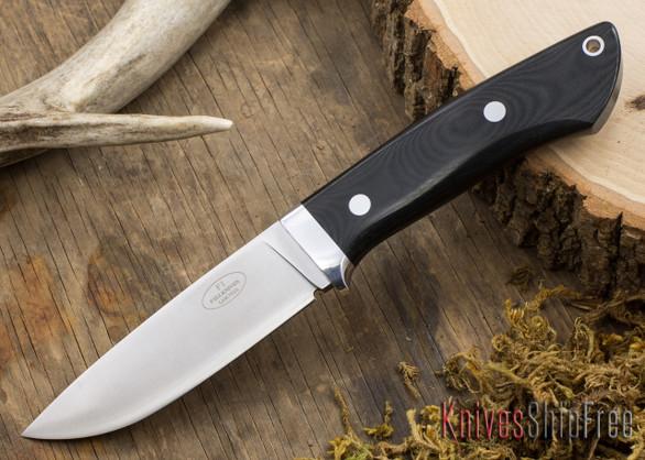 Fallkniven: Custom F1 - Black Linen Micarta