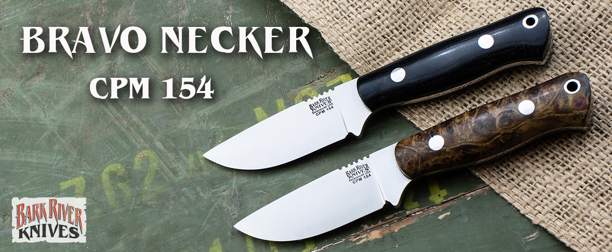 Bark River Knives: Bravo Necker CPM-154