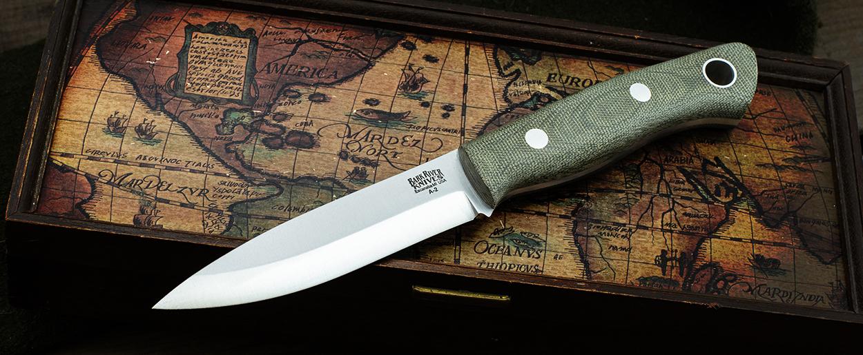 Bark River Knives: Aurora Scandi
