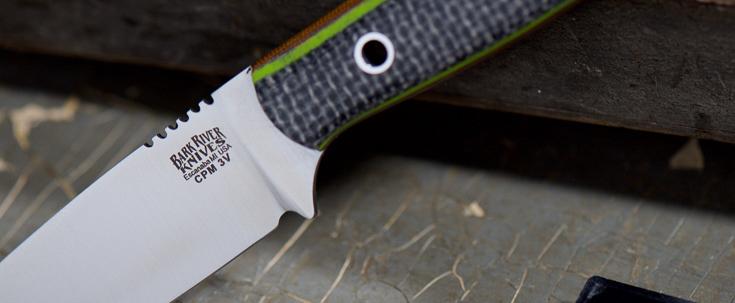 Bark River Knives: Bravo Necker