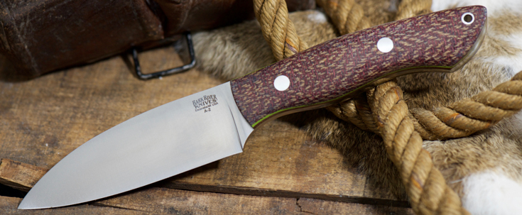 Bark River Knives: Bush Seax