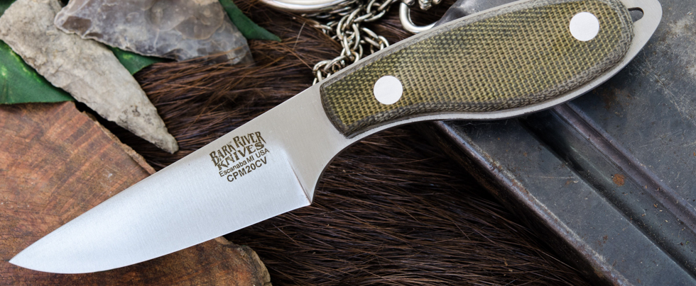 Bark River Knives: Caper Necker - CPM 20CV