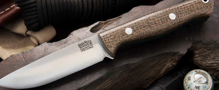 Bark River Knives: Gunny Hunter - CPM Cru-Wear