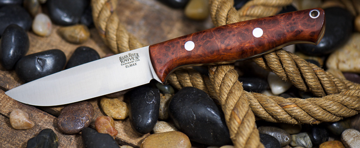 Bark River Knives: Gunny Hunter - Elmax