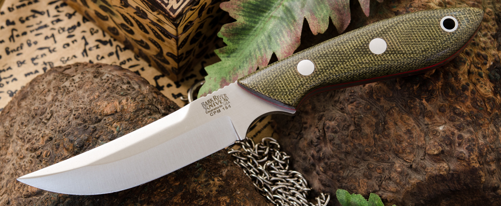 Bark River Knives: Adventurer Persian - CPM 154