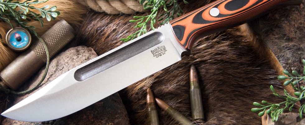 Bark River Knives: Bravo Squad Leader II - CPM 3V