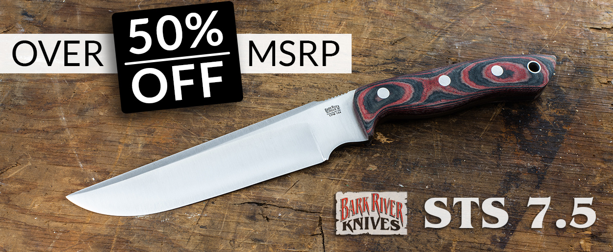 Bark River Knives: STS 7.5 - CPM 154