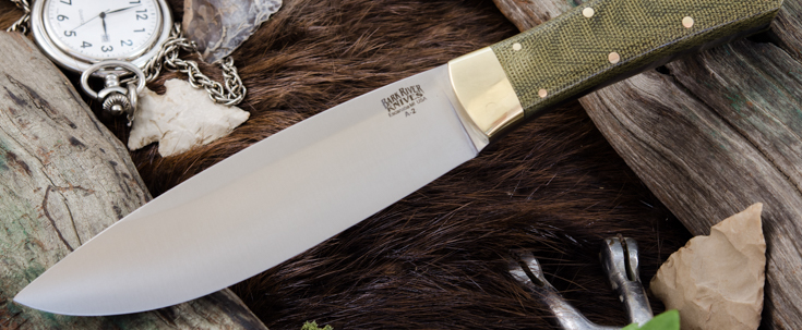 Bark River Knives: Mini Rogue
