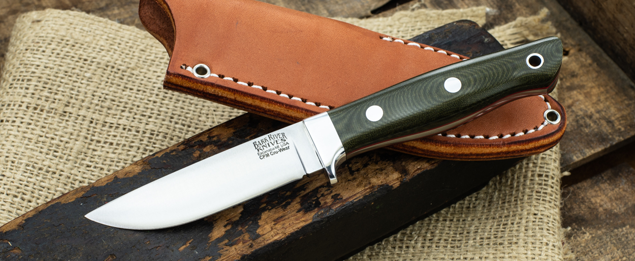 Bark River Knives: Mountaineer II - CruWear