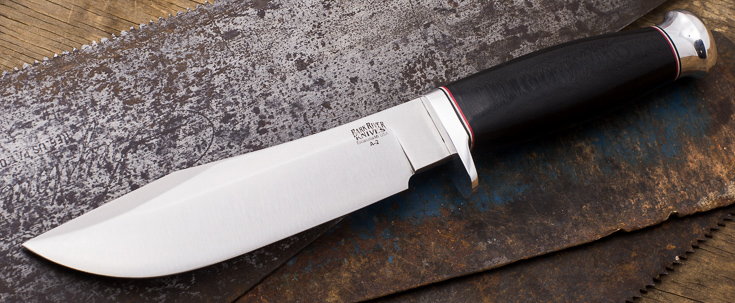 Bark River Knives: Special Hunting Knife - Hidden Tang