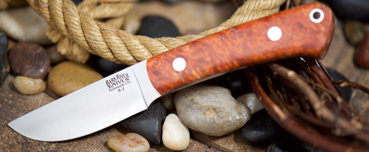 Bark River Knives: Woodland Special