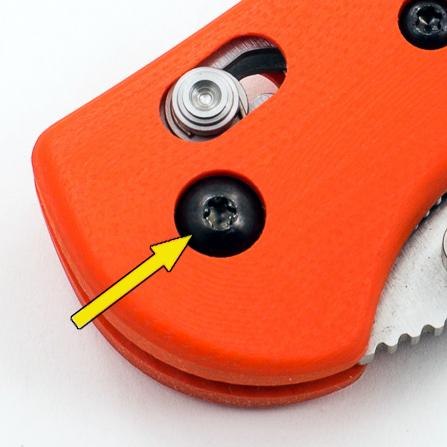 Pivot screw