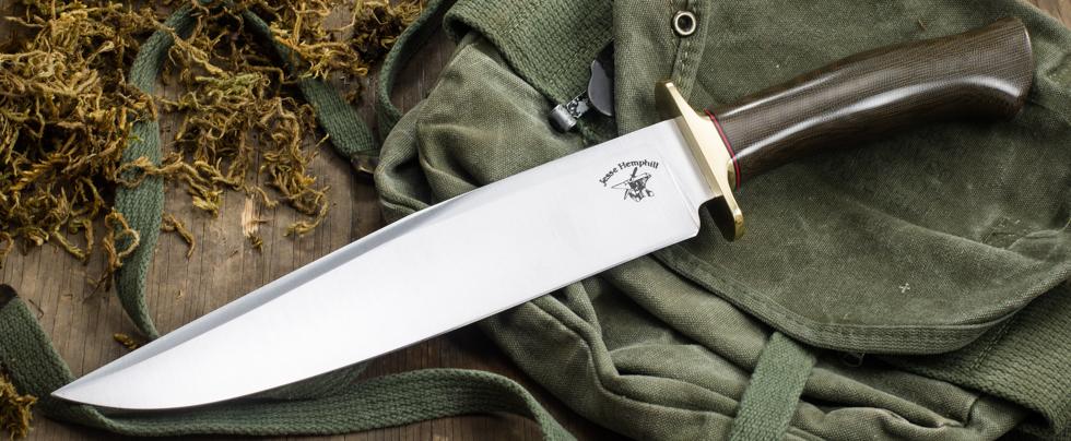Jesse Hemphill Knives: Mid-Tech Bowie