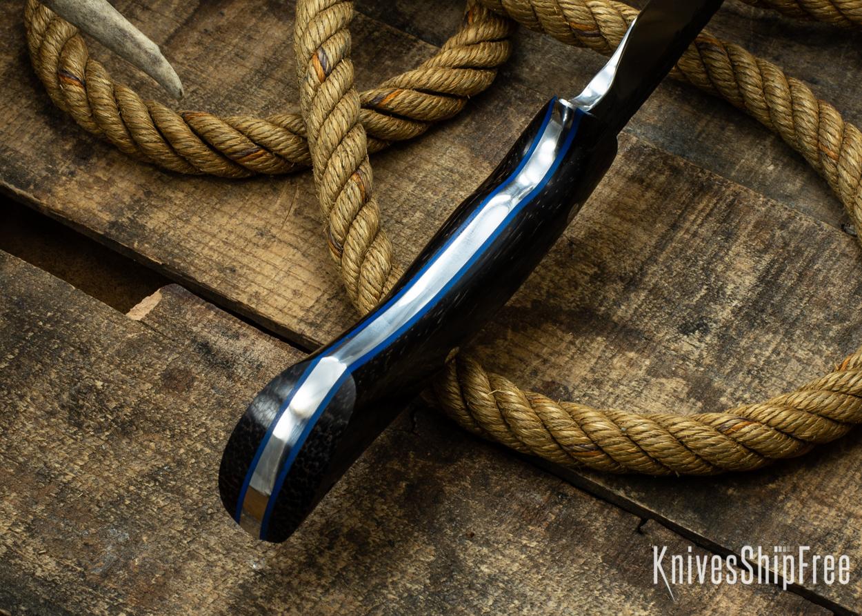 (Spine) Black Palm - Blue Liners - 112322