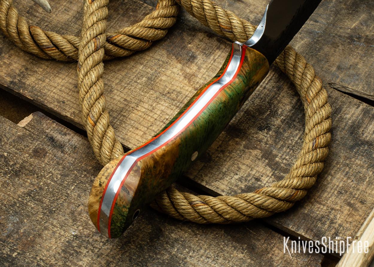(Spine) Gold & Green Elder Burl - Orange Liners - 112341