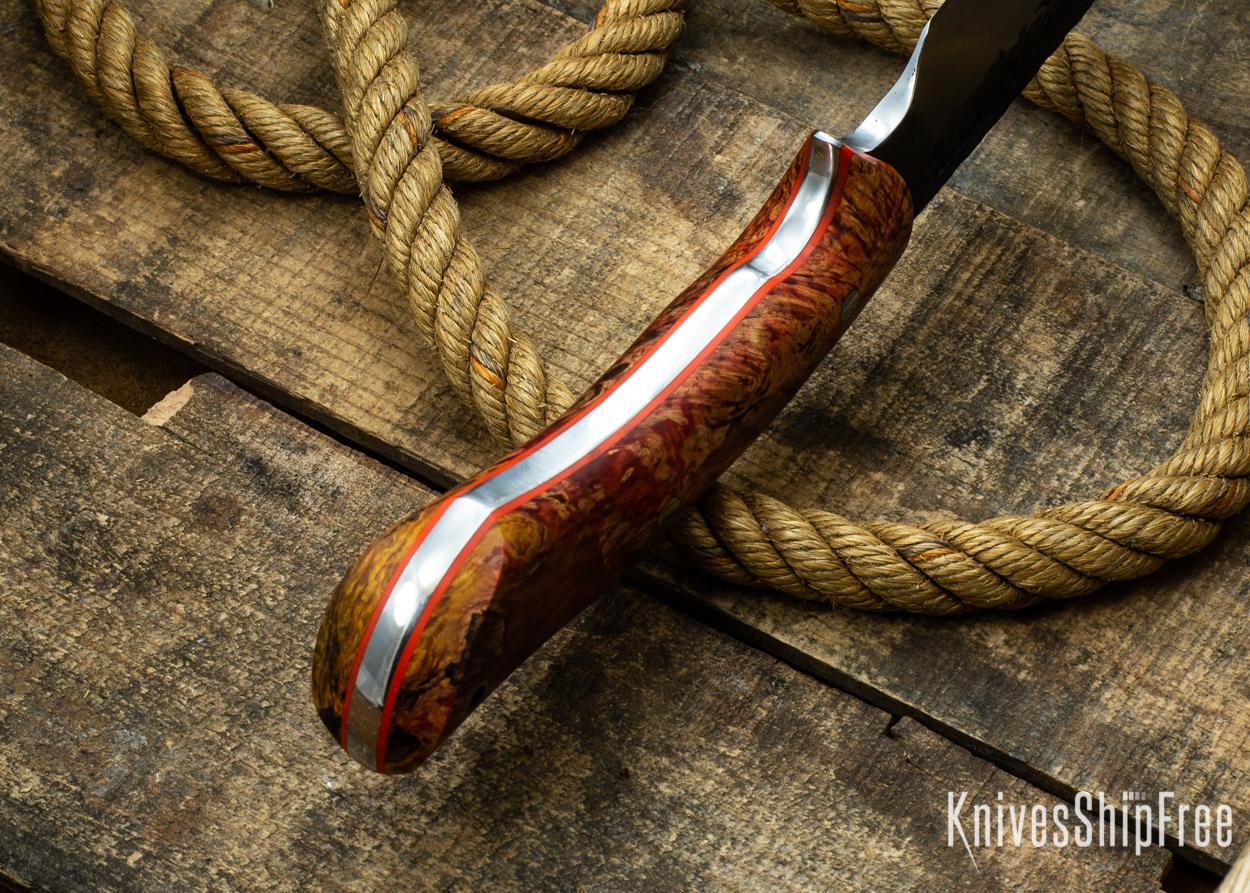 (Spine) Red & Orange Elder Burl - Orange Liners - 112353