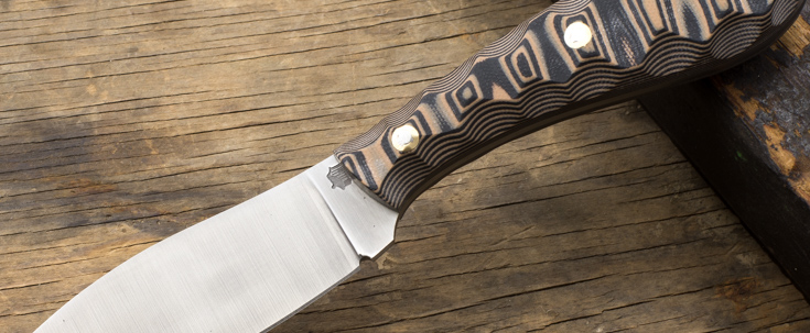 L.T. Wright Knives: Large Northern Hunter