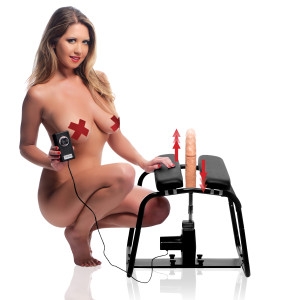 4 In 1 Banging Bench With Sex Machine - AG123