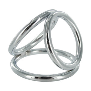 The Triad Chamber Cock And Ball Ring- Large