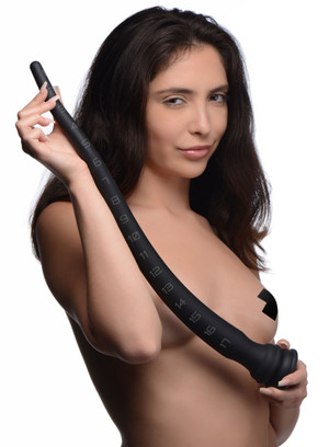 Silicone Tapered Anal Hose - 18 Inch