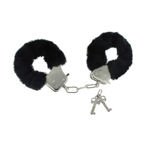 Caught In Candy Handcuffs - Black - VF469